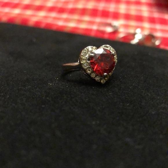 3bf50f9cc Kay Jewelers Jewelry | Ruby Heart Ring From | Poshmark